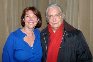 Gloria with Ken Johnson of One Voice Coalition